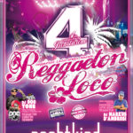 REGGAETON LOCO – 4th anniversary 29th of Sept. 2017